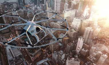 Volocopter - City Close Up