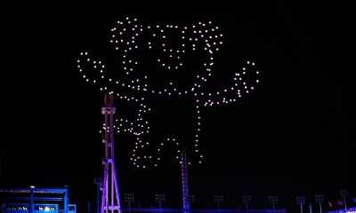 Intel Drone Olympics Closing Soohorang
