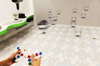 Human Media Lab - LEGO Flying Bricks