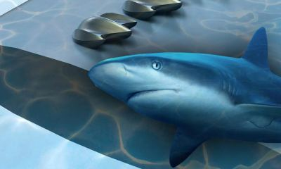 Mako Shark Denticle Drone Design