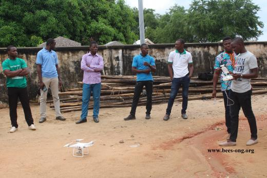 BEES team in training with other Benin associations