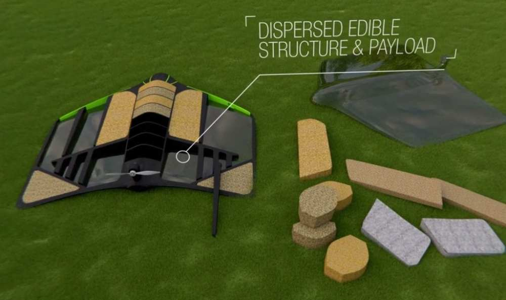 The Pouncer would have both an edible structure and payload | Windhorse Aerospace