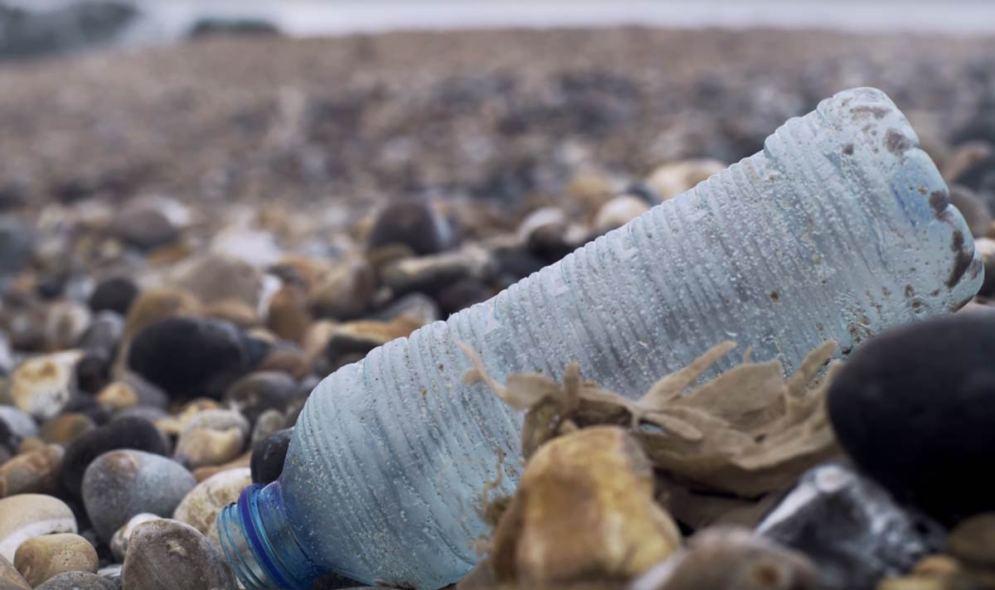 Plastic Beach Rubbish
