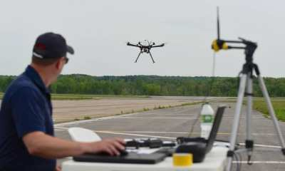A Pilot paunches his drone on a planned maneuver at New York's FAA | NASA