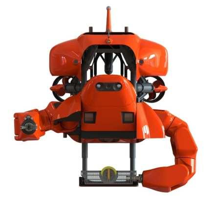The HMI Aquanaut in WorkClass mode   HMI