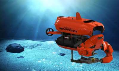 HMI's Unmanned Underwater Vehicle, named the Aquanaut