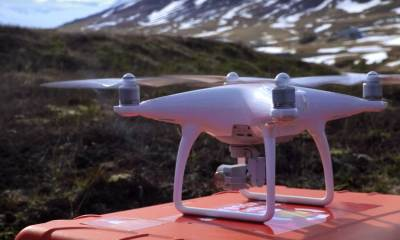 DJI Phantom used in Search and Rescue