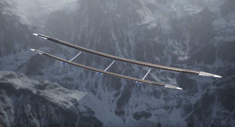 HAPS (High Altitude Pseudo Satellite) by UAVOS