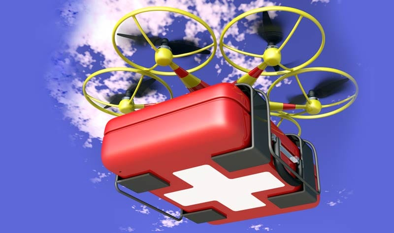 brand new d2fe9 2f219 New Conference Paper Aims On Optimizing The Emergency Medical Supplies  Delivery With UAVs
