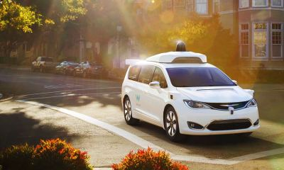 Waymo's fully self-driving Chrysler Pacifica Hybrid minivan on public roads | Waymo