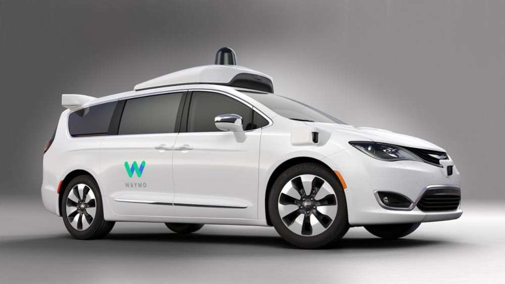 Waymo's fully self-driving Chrysler Pacifica Hybrid minivan | Waymo