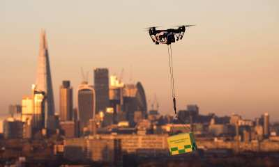 Examples of where drone technology could be used include transportation of blood, rapid response to floods or fires, search and rescue assistance for police, and risk assessment of bridges and critical infrastructure. | David Parry/PA Wire