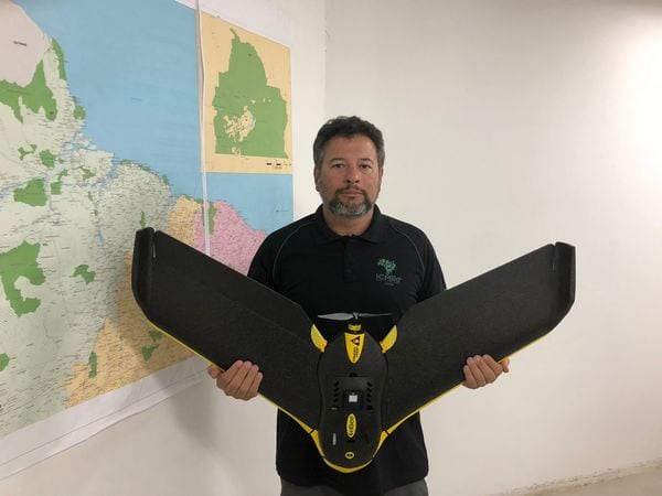 ICMBio Supervision Coordination is preparing to use drones in 2019 mainly in the Amazon   Credit: Getúlio Dutra
