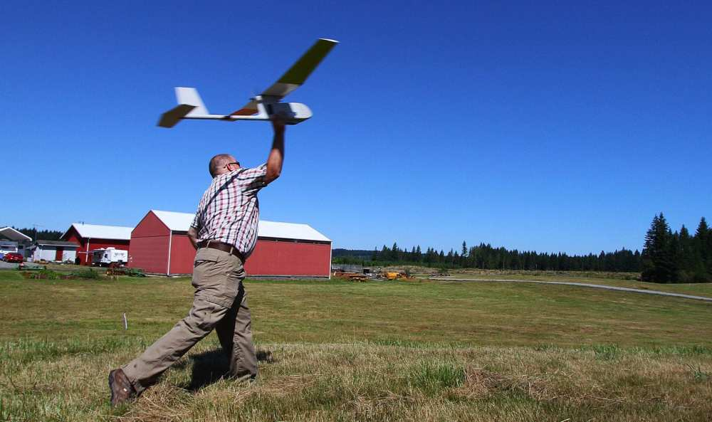 Unmanned Aircraft Systems, or aerial drones, flew for the first time to assist in BLM Oregon research this summer. The USGS drone team, based in Colorado, was established in 2008 and has been flying a variety of scientific missions ever since including abandoned mine mapping