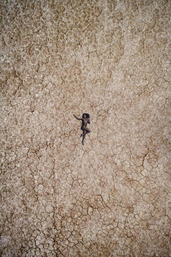 Chauntel in the Desert