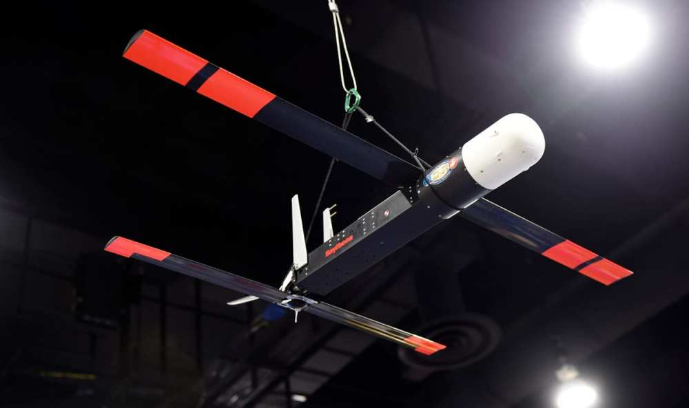 LOw-Cost Unmanned aerial vehicle Swarming Technology (LOCUST) program will make possible the launch of multiple swarming UAVs to autonomously overwhelm   Wkikicommons