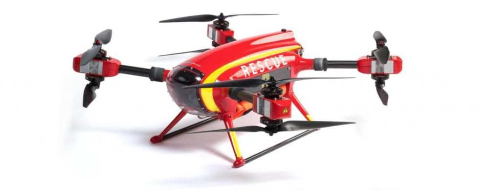 The Auxdron Lifeguard Drone. Image Credit: GeneralDrones