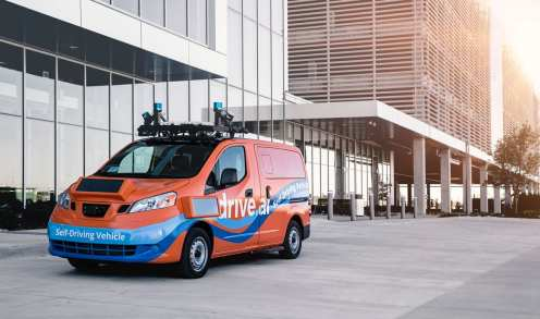 Drive.ai Self-Driving Vans