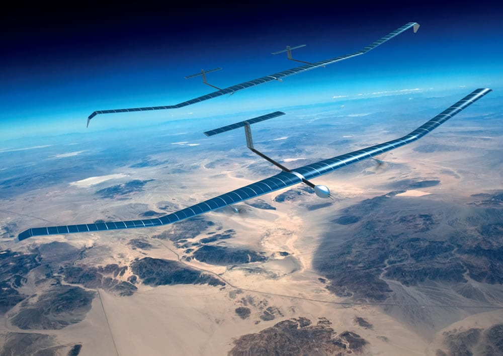 Airbus & Facebook's High Altitude Drone Crashes in Australian Outback