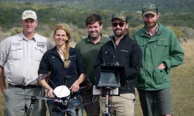 Bulk and her team in South Africa with local rhino experts | Waikato Story