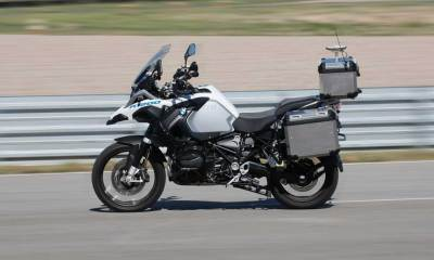 BMW driverless bike