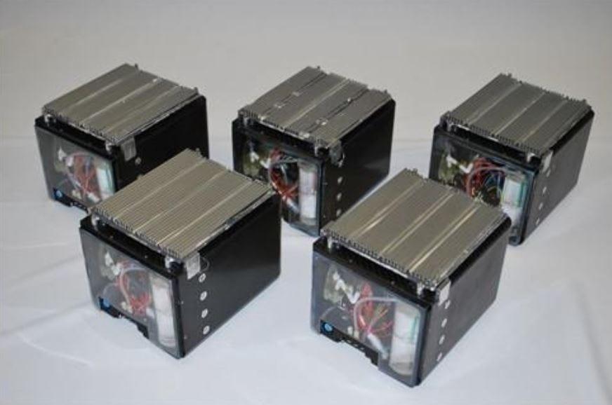 Ballard-Protonex's NaBH4one time use cartridges 1350 Wh