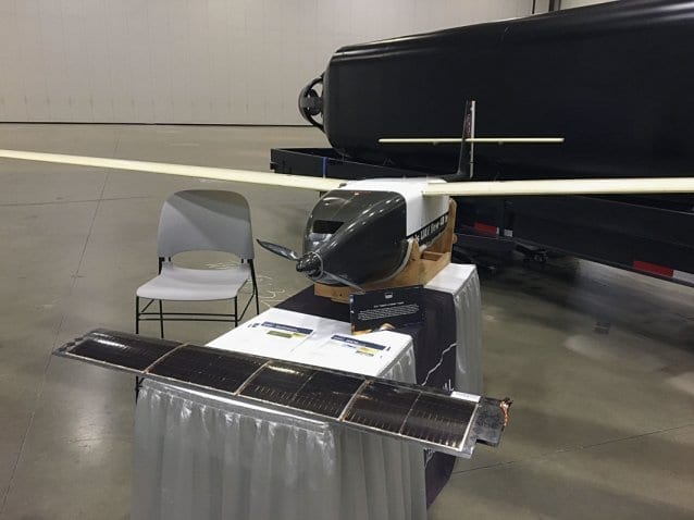 NRL's Hybrid Tiger UAV driven with H2FC and photovoltaic panels