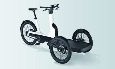 Volkswagen Commercial Vehicles will be offering innovative zero-emission vehicles in nearly all market segments. With this goal in mind, the brand has developed its first electric cargo bike: the Cargo e-Bike.