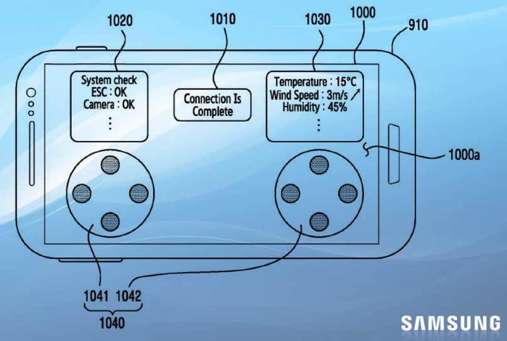 Samsung Drone UAV controller