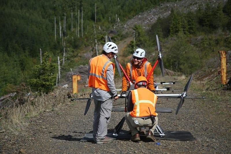 Drones to Restore Oregon Rangelands