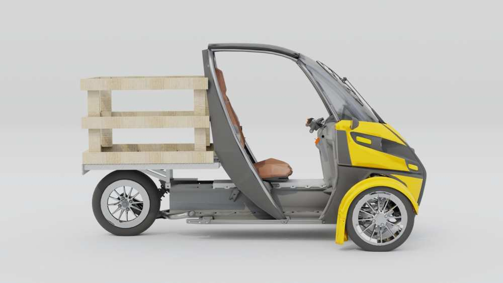 The Deliverator is a pure electric, last-mile delivery solution designed to more quickly, safely, and affordably get your goods where they need to go. Built on the Arcimoto Platform, the Deliverator can be customized to carry a wide array of products, from parcels to pizza, groceries to dry cleaning.