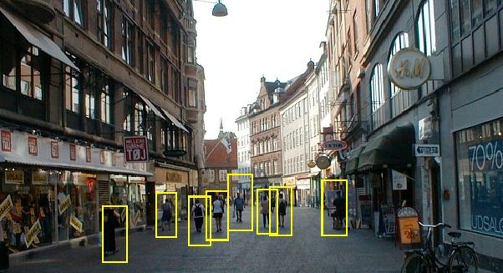 Our system can spot people amid busy surroundings.University of Dayton Vision Lab, CC BY-ND