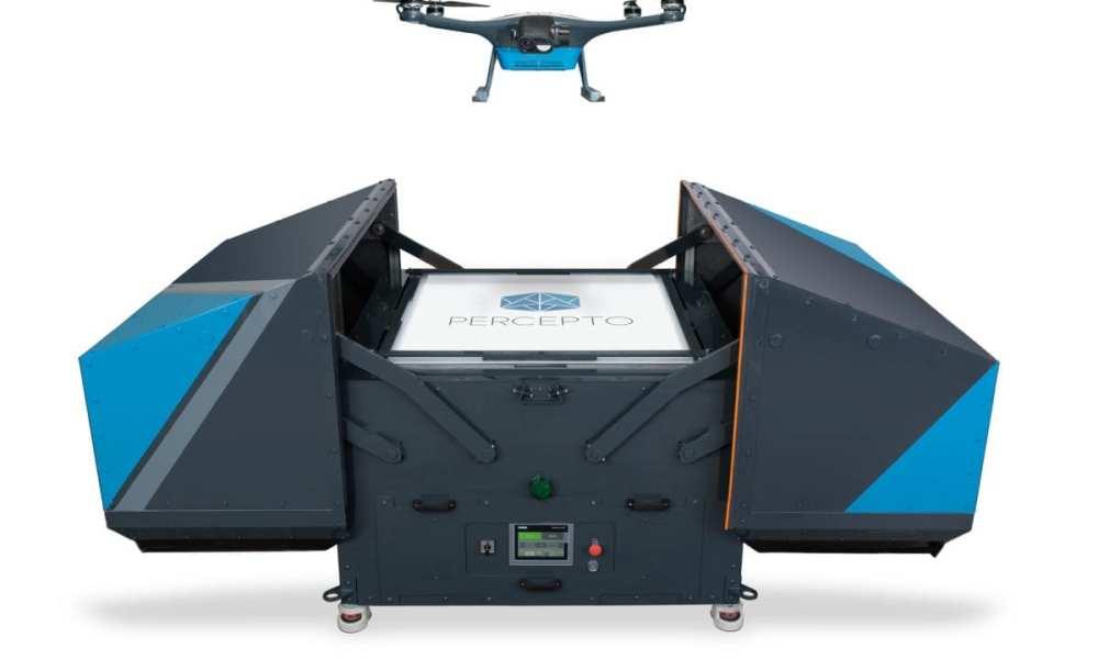 Percepto Launches Autonomous Drones in Australia