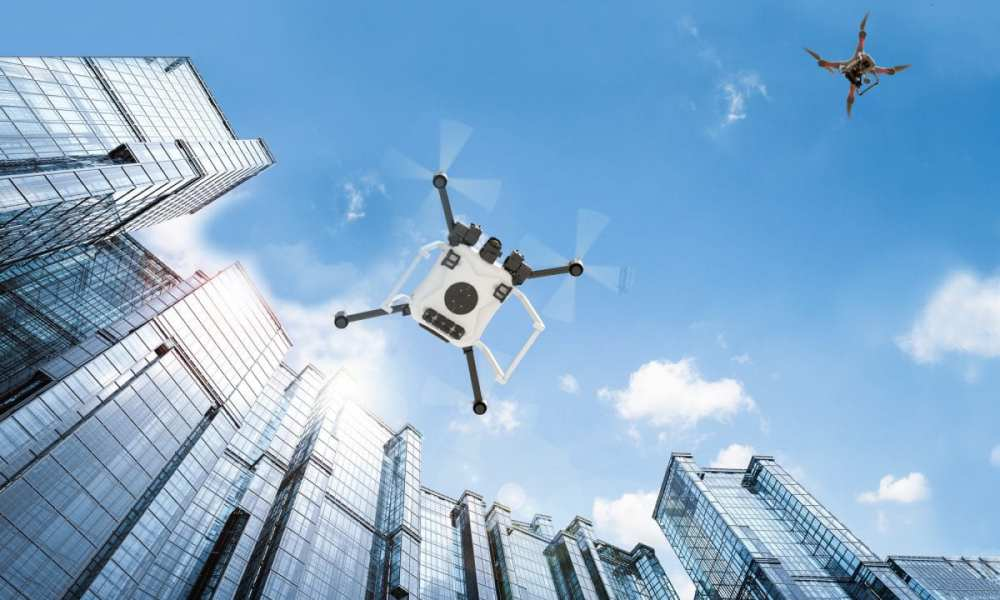 NASA is conducting field demonstrations of small drones navigating urban landscapes in Reno, Nevada, and Corpus Christi, Texas, May through August 2019. These demonstrations will complete its testing of technologies that can be part of a system to safely manage drone traffic. Credits: NASA/Lillian Gipson
