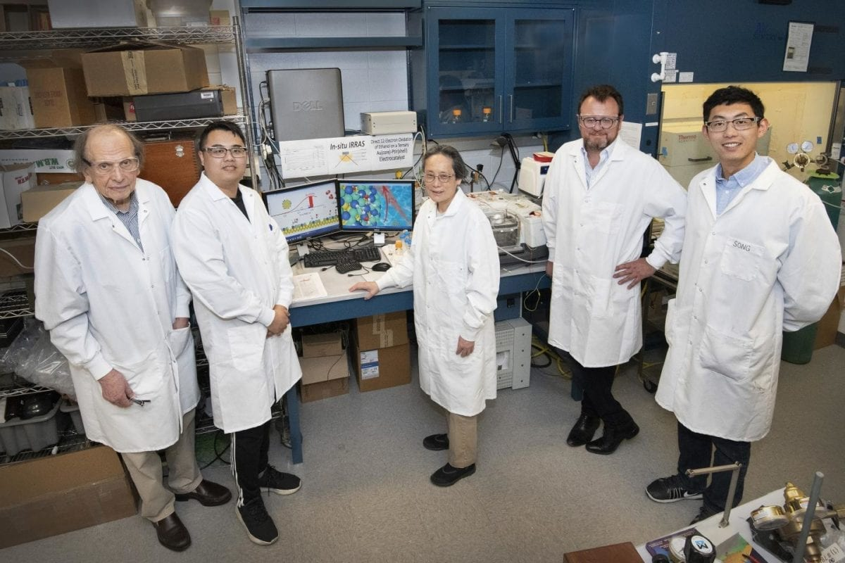 New Catalyst for Ethanol Fuel Cells Shows Promise for Liquid-Fuel-Cell-Powered Drones