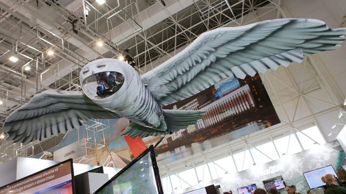 An Owl-Inspired Russian Spy Drone