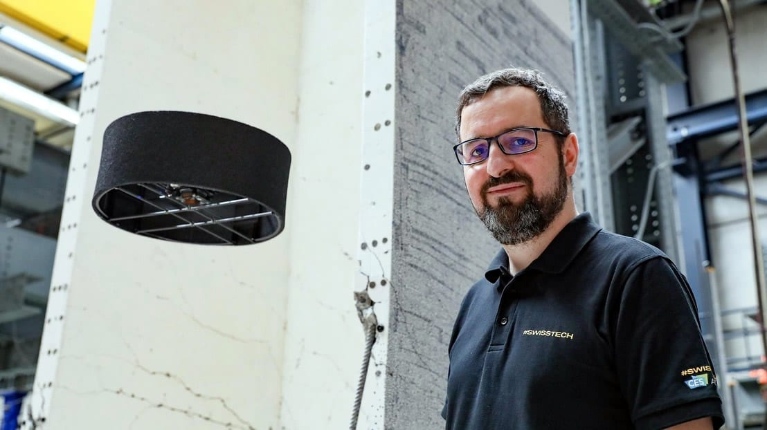 Novel Drone and Propulsion System Doubles Flight Time