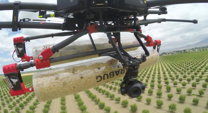News on Crop Spraying and Drones from Drone Below