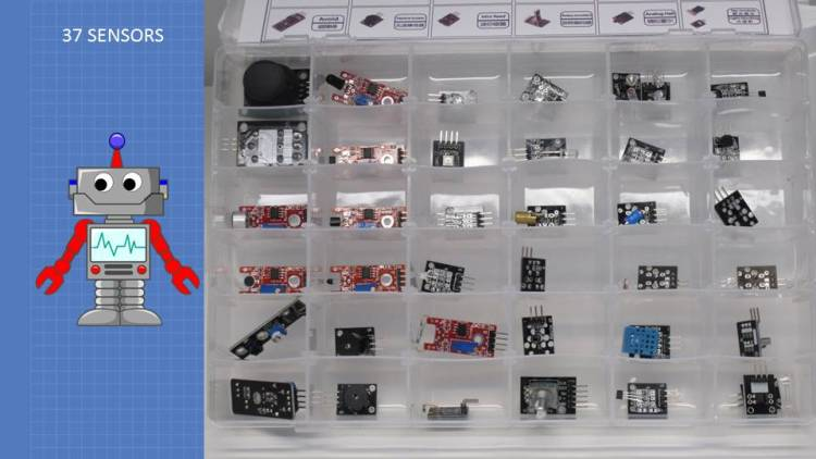 37 Sensor Kit Contents