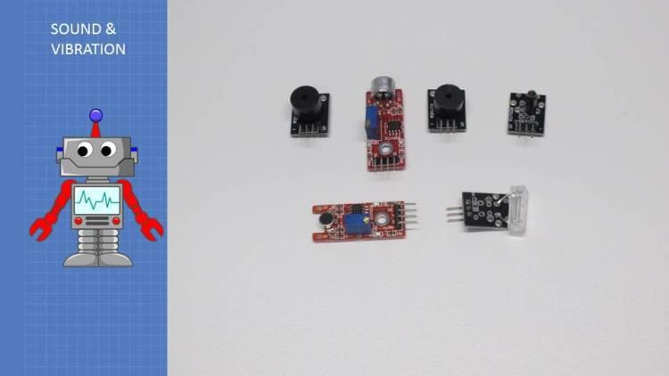 37 Sensors - Sound and Vibration