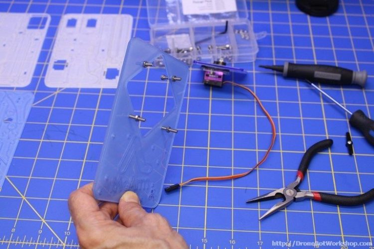 MeArm Step 5-6-7-8 Screws