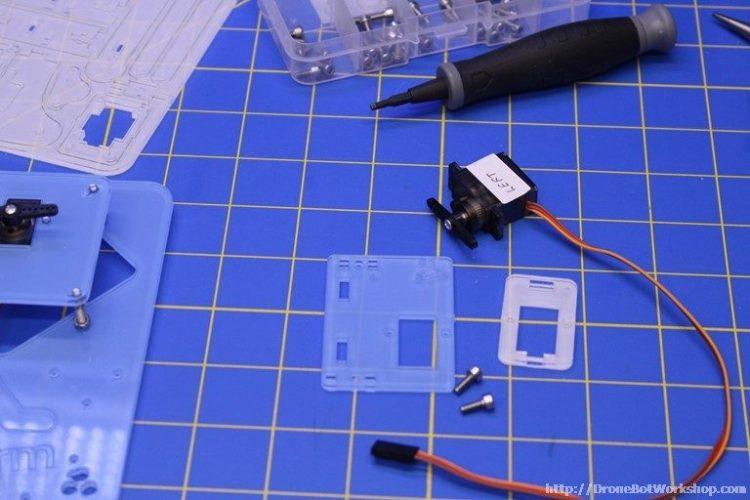 MeArm Step 10-11 Parts
