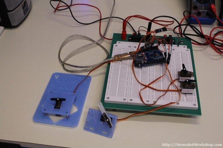 MeArm Step 15 Arduino