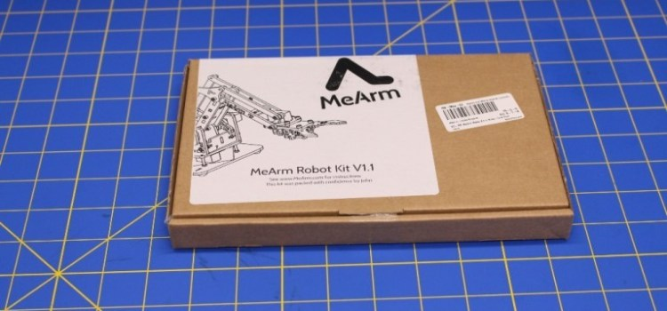Assembling the MeArm Robotic Arm