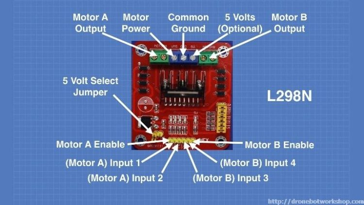 L298 Motor Control Module