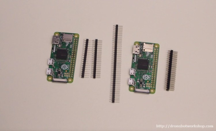 Pi Zeros and GPIO Headers