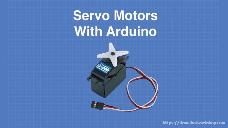 using servo motors with the arduino dronebot workshop rain sensor 82 cj ignition diagram catalogue of