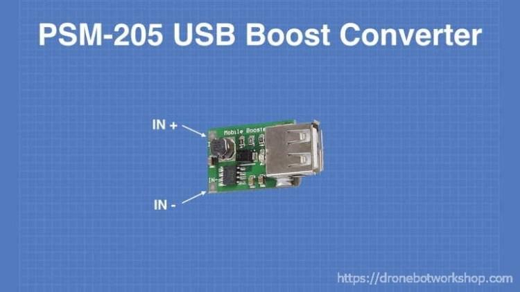 PSM-205 USB Boost Converter