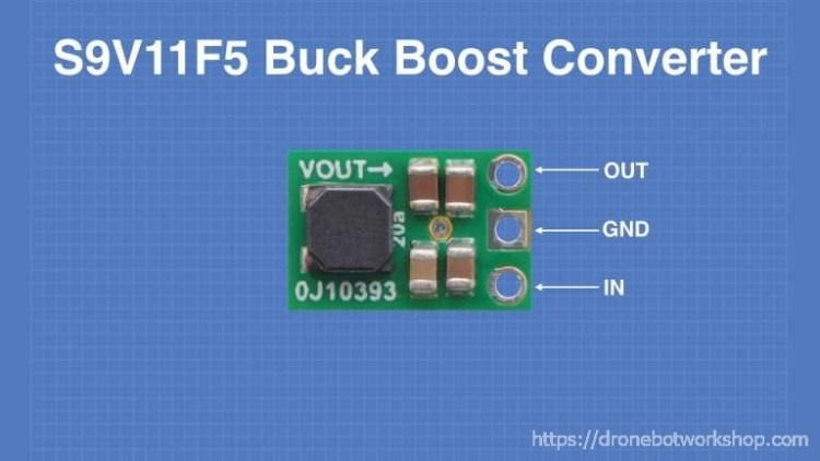 S9V11F5 Buck Boost Converter
