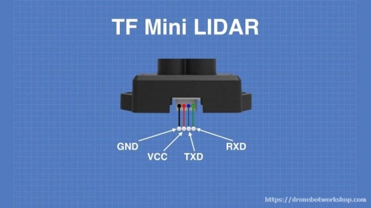 TF Mini LIDAR Pinout